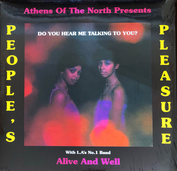 People's Pleasure | Do You Hear Me Talking To You? (New)