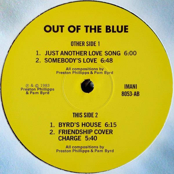 Imani (8) | Out Of The Blue (New)
