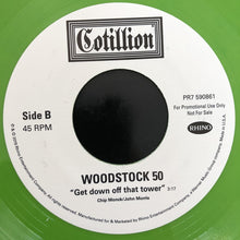 "Load image into Gallery viewer, Various | Woodstock 50: ""The Brown Acid Is Not, Specifically, Too Good"" / ""Get Down Off That Tower"" (New)"