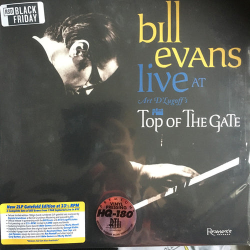 Bill Evans | Live At Art D'Lugoff's Top Of The Gate (New)