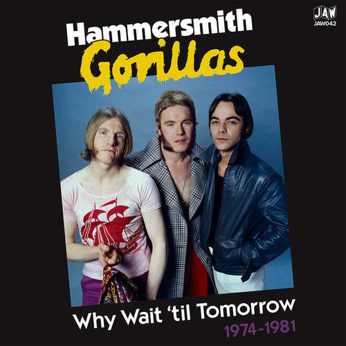 The Gorillas | Why Wait 'Til Tomorrow 1974-1981 (New)