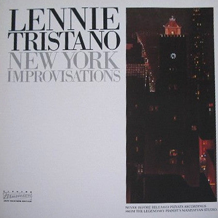 Lennie Tristano | New York Improvisations (New)