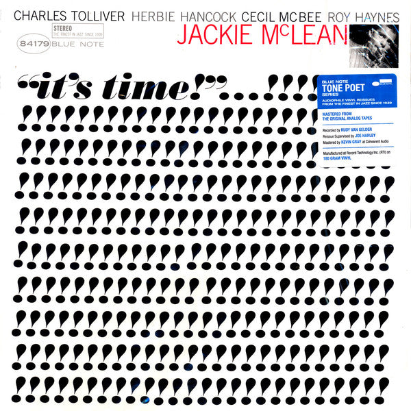 Jackie McLean | It's Time! (New)