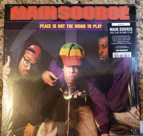 Main Source | Peace Is Not The Word To Play (New)