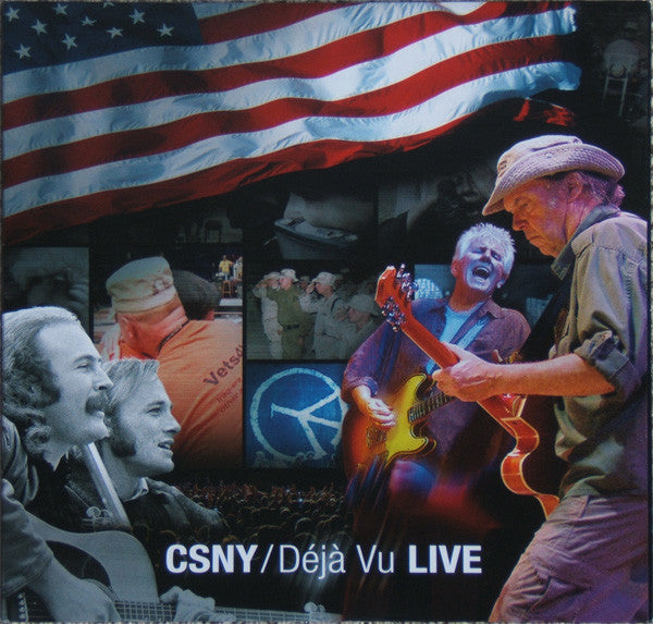 Crosby, Stills, Nash & Young | Déjà Vu LIVE (New)