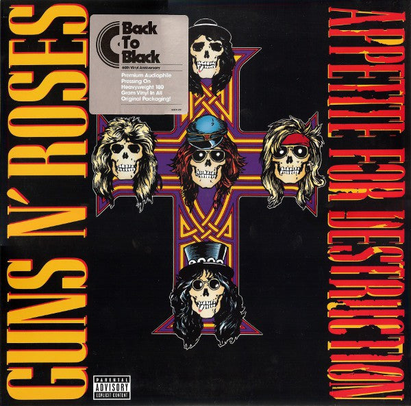 Guns N' Roses | Appetite For Destruction (New)