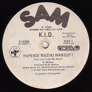 K.I.D. | Hupendi Muziki Wangu? ! / It's Hot