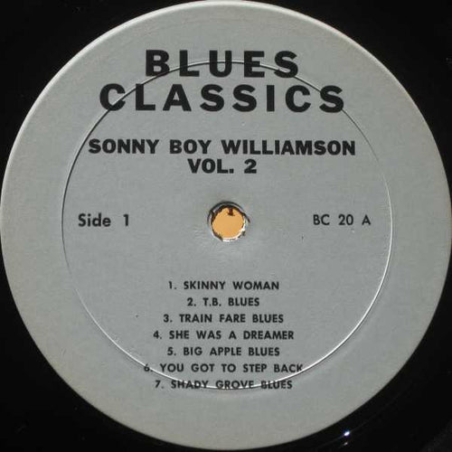 Sonny Boy Williamson | Blues Classics By Sonny Boy Williamson Volume 2