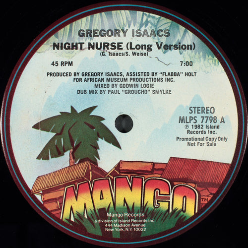 Gregory Isaacs | Night Nurse