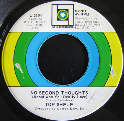 Top Shelf (4) | No Second Thoughts (About Who You Really Love)