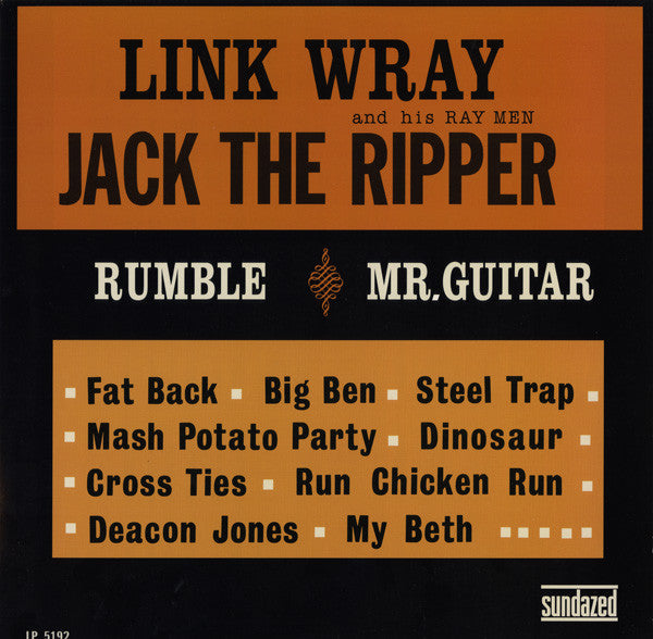 Link Wray And His Ray Men | Jack The Ripper (New)