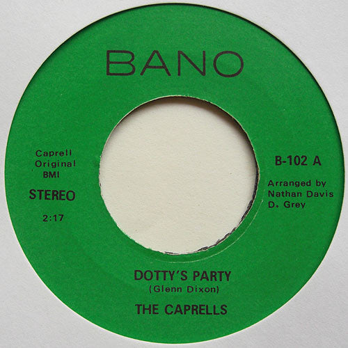 The Caprells | Dotty's Party / What You Need Baby