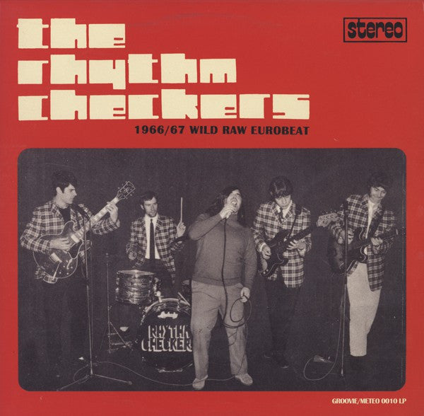 The Rhythm Checkers | 1966 / 67 Wild Raw Eurobeat (New)