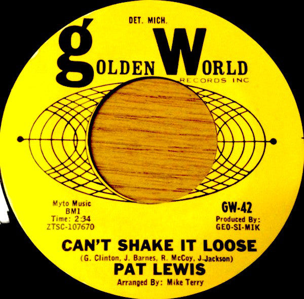 Pat Lewis | Can't Shake It Loose / Let's Go Together