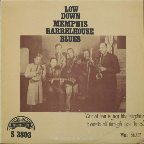 Various | Low Down Memphis Barrelhouse Blues