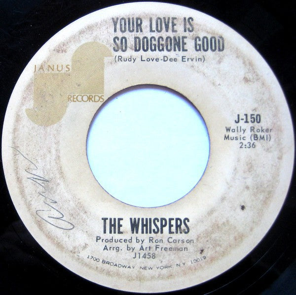 The Whispers | Your Love Is So Doggone Good / Crackel Jack