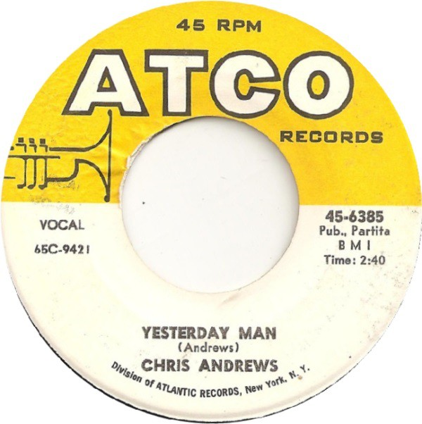 Chris Andrews (3) | Yesterday Man (45)