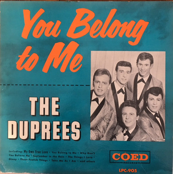 The Duprees | You Belong To Me