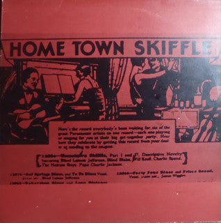 Various | Home Town Skiffle: Early Folk Blues Vol. 2