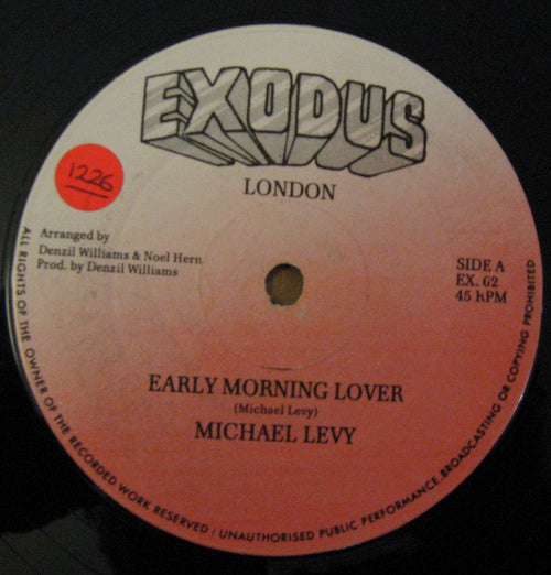 Michael Levy (2) | Early Morning Lover