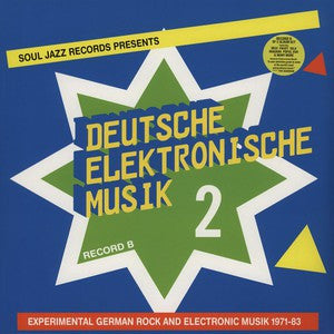 Various | Deutsche Elektronische Musik 2 (Experimental German Rock And Electronic Musik 1971-83)(Record B) (New)