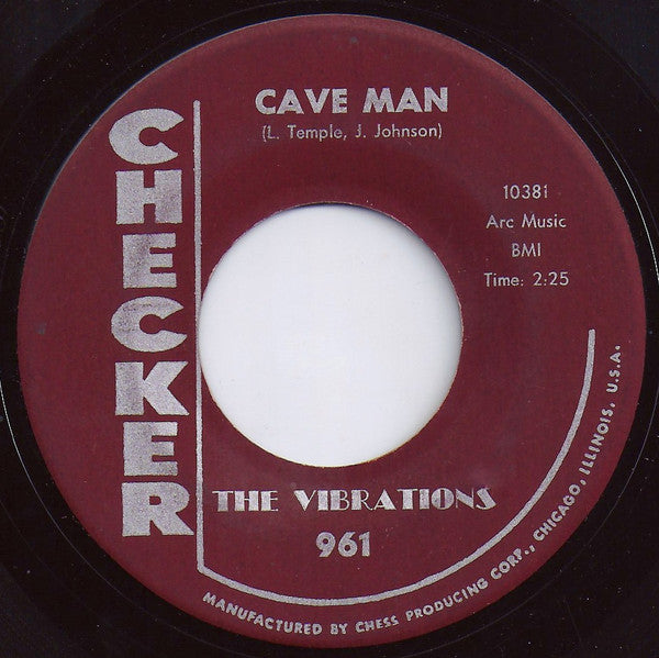 The Vibrations | Cave Man / Feel So Bad