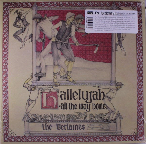 The Verlaines | Hallelujah - All The Way Home (New)