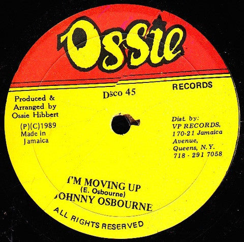 Johnny Osbourne | I'm Moving Up