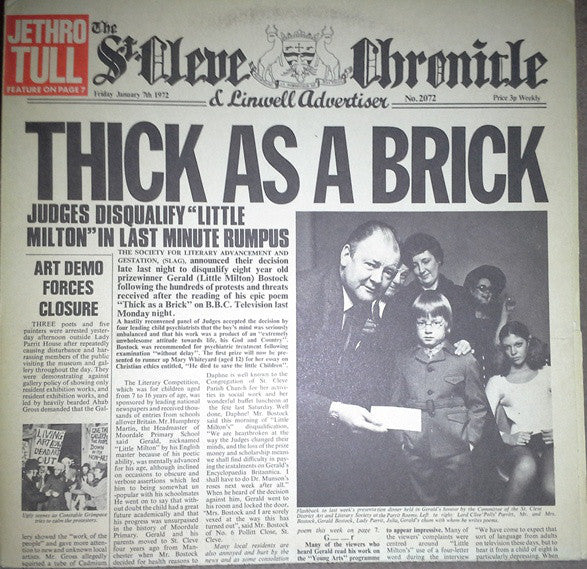 Jethro Tull | Thick As A Brick