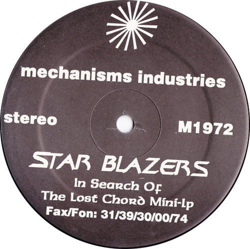 Star Blazers | In Search Of The Lost Chord Mini-LP