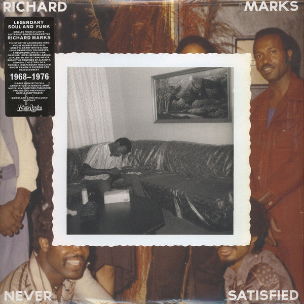 Richard Marks | Never Satisfied (New)