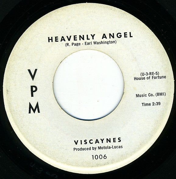 Viscaynes | Yellow Moon / Heavenly Angel