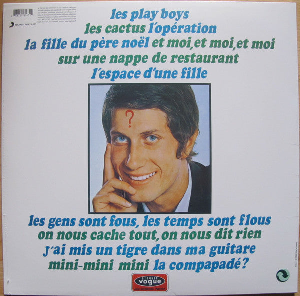 Jacques Dutronc Les Play Boys New Tunnel Records Beach Goods