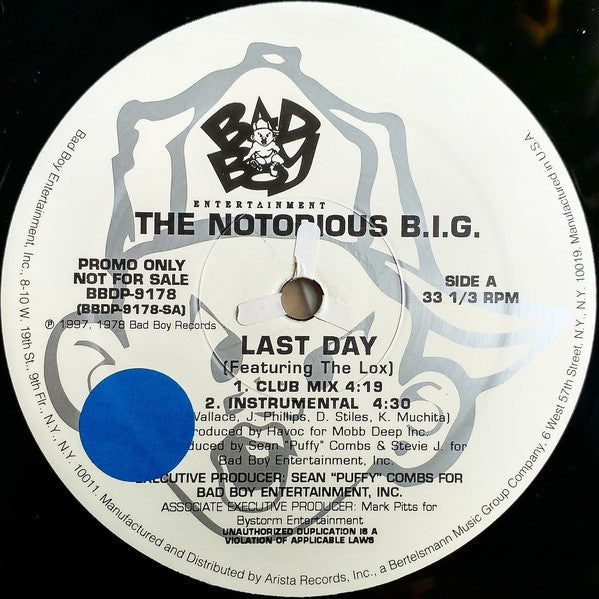 Notorious B.I.G. | Last Day / I Got A Story To Tell