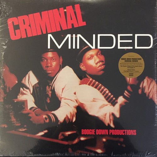 Boogie Down Productions | Criminal Minded (New)