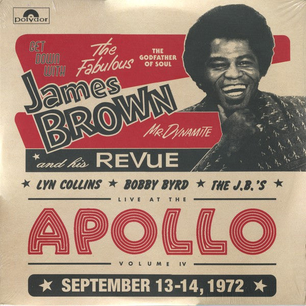 James Brown | Get Down With James Brown: Live At The Apollo Volume IV (New)