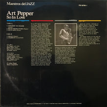 Load image into Gallery viewer, Art Pepper | So In Love (New)