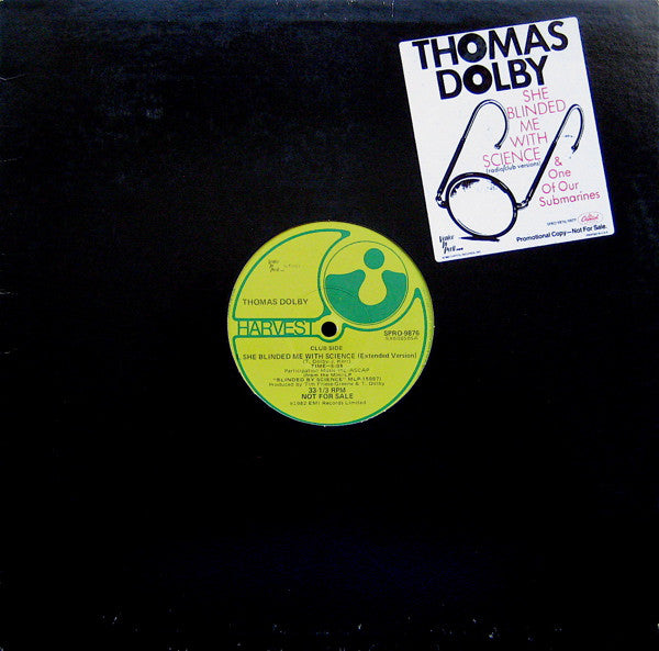 Thomas Dolby | She Blinded Me With Science (Radio/Club Versions) & One Of Our Submarines