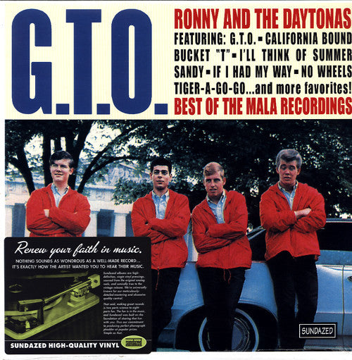 Ronny & The Daytonas | G.T.O. / Best Of The Mala Recordings (New)