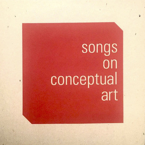 Various | songs on conceptual art