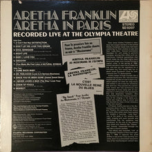 Load image into Gallery viewer, Aretha Franklin | Aretha In Paris