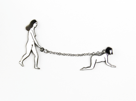 Leash Enamel Pin