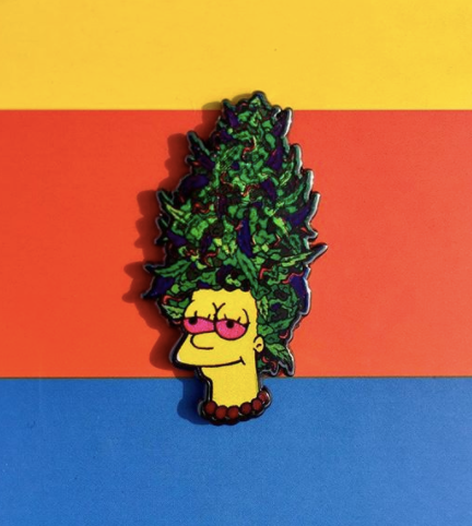 Stoney Marge Enamel Pin