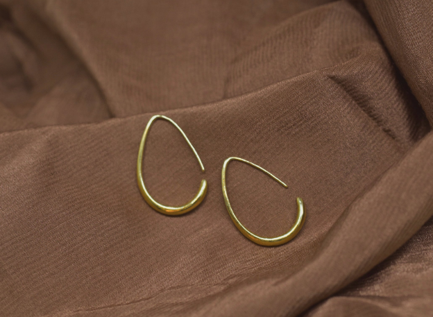 Susa Hoop Earrings by Mountainside Handmade Jewelry