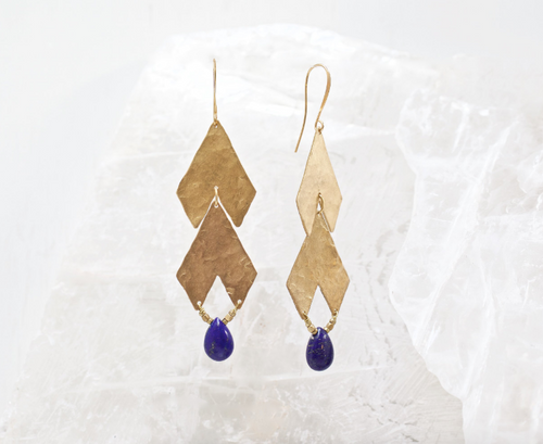 Valley Earrings by Mountainside Handmade Jewelry
