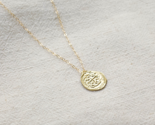 Medallion Necklace by Mountainside Handmade Jewelry