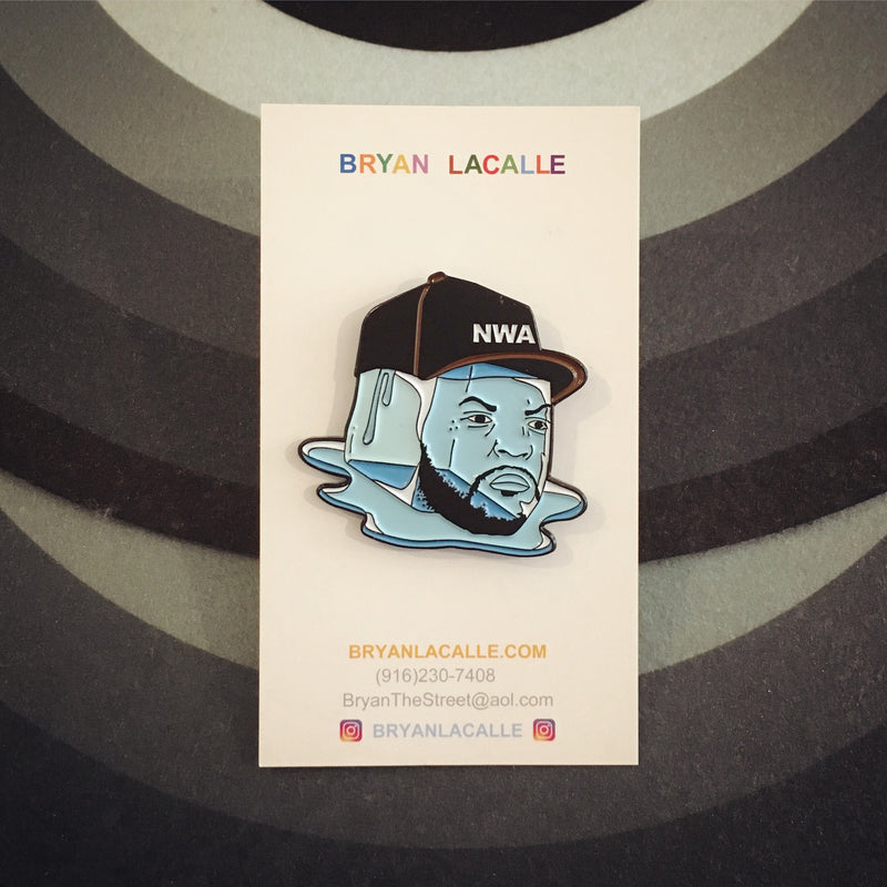 Ice Cube Enamel Pin