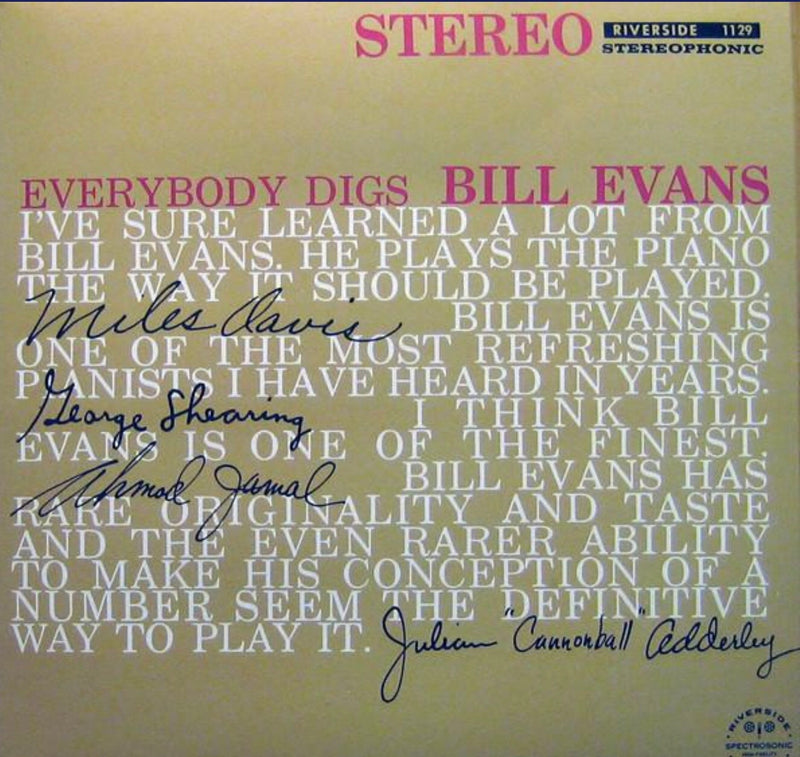The Bill Evans Trio | Everybody Digs Bill Evans (New)