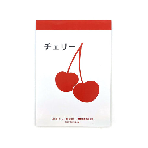 TABLET NOTEPAD - CHERRY