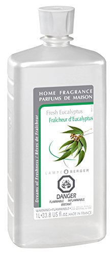 Lampe Berger Fragrance, 33.8 Fluid Ounce, Fresh Eucalyptus